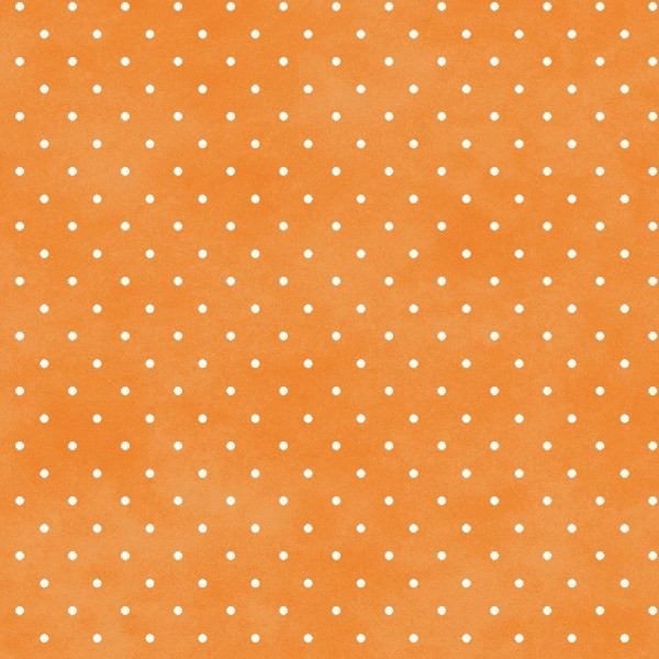 Punkte Stoff Orange Classic Dot Apricot