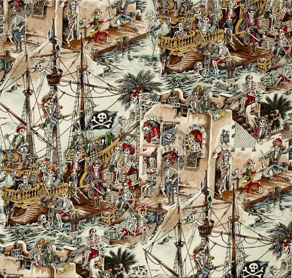 Skelewags Piraten Schiffe Skelette