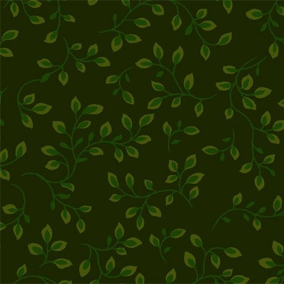 Folio Ranken Grün Patchworkstoff Überbreite
