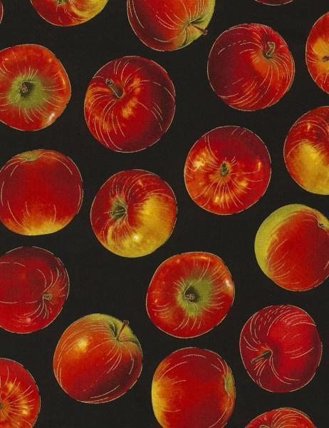 Äpfel Stoff Harvest Apples