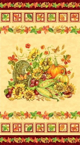 Harvest Blessings Patchworkstoffe Panel