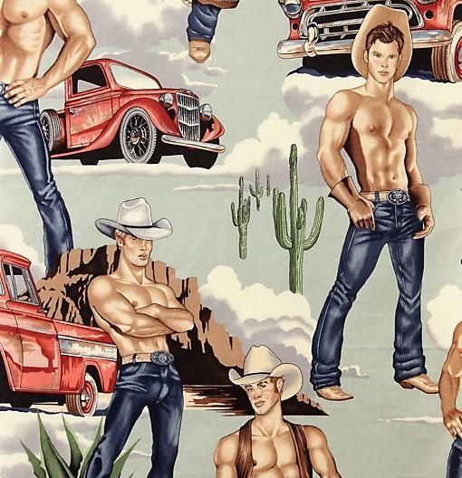 Cowboy Stoff Vintage Wranglers