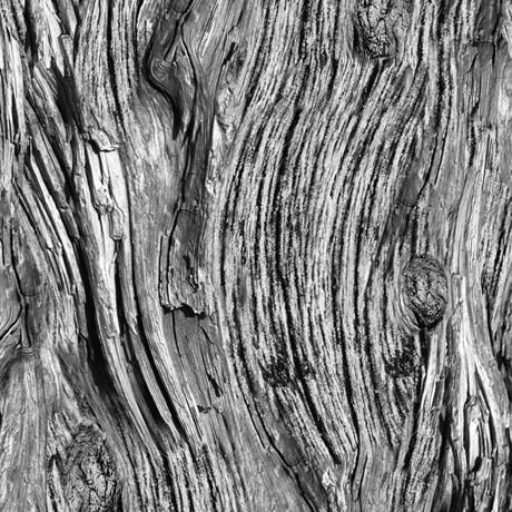 Holzmaserung Stoff Mittelgrau Open Air Driftwood