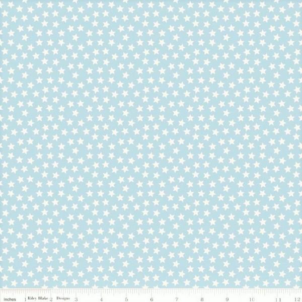 Lucky Stars Blue Sterne Hellblau