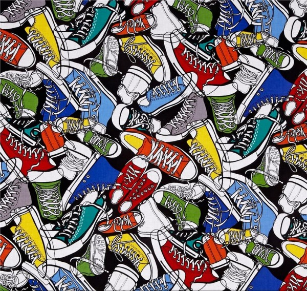 Turnschuhe Stoff Sneakers