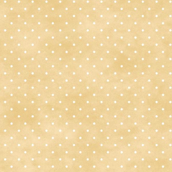 Punkte Stoff Beige Classic Dot Tan
