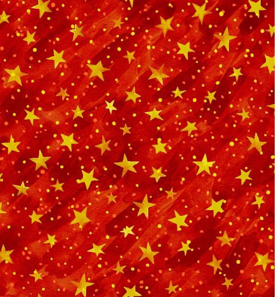 Sterne Stoff Rot Noel Weihnachtsstoff