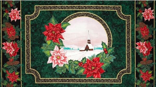 Christmas Morning Weihnachtsstoffe Stoffe Weihnachten Panel