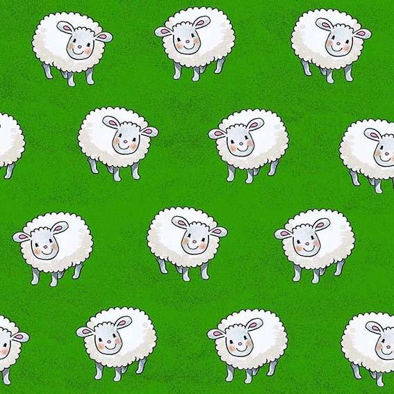 Schafe Stoff Memory Maas Sheeps