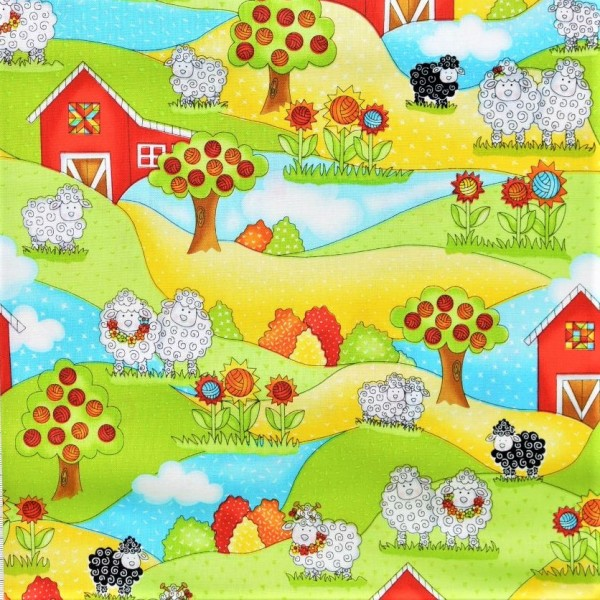 Knit Happy Sheeps Scenic Schafe