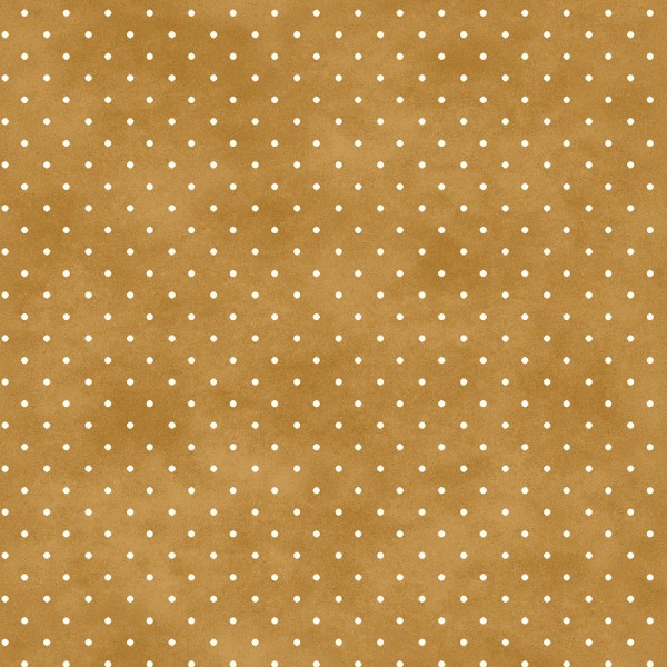 Punkte Stoff Classic Dot Gold