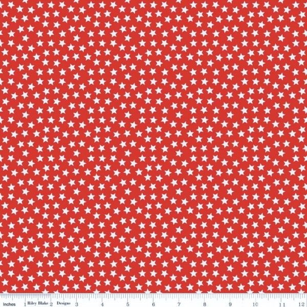 Lucky Stars Red Sterne Rot