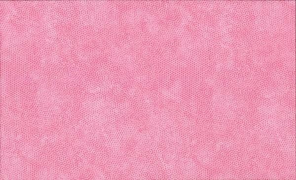 Dimples Rosa Carnation Patchworkstoff