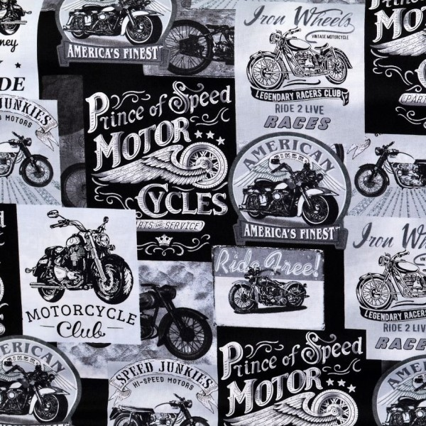 Vintage Motorcycle Signs Motorräder