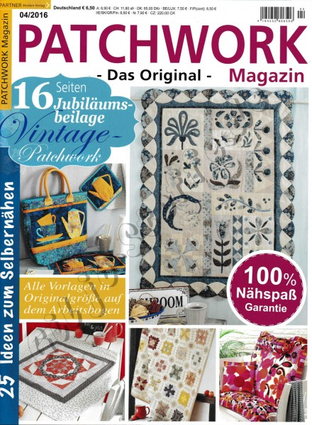 04/2016 Patchwork Magazin