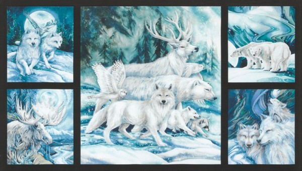 Winter`s Majesty Panel