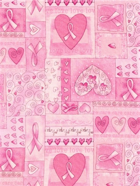 Pink Ribbon Herzen