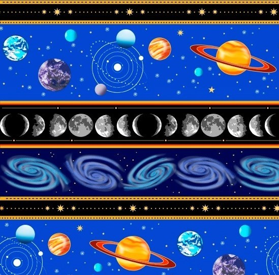 Starlight Solar System Stripe