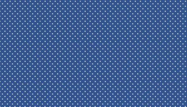 Punkte Stoff Spot On B68 Marine Blau