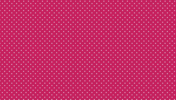 Punkte Stoff Spot On P68 Rasberry Pink