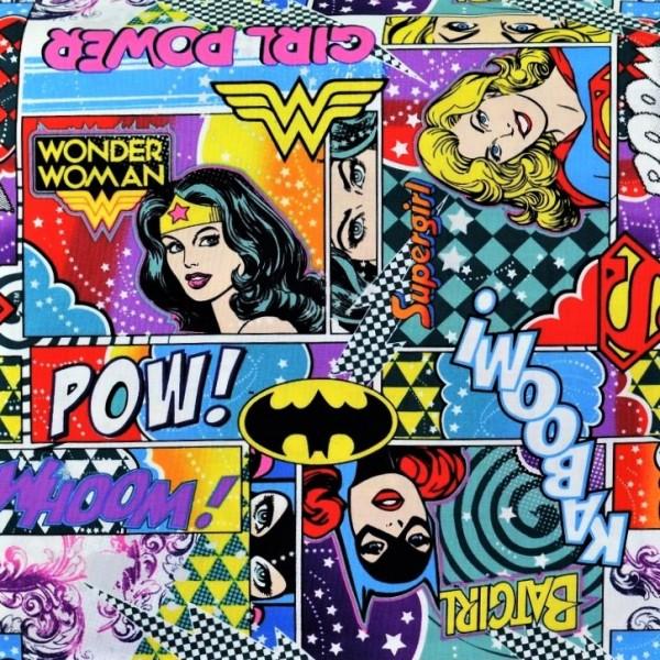 Girl Power Stoff Wonder Woman