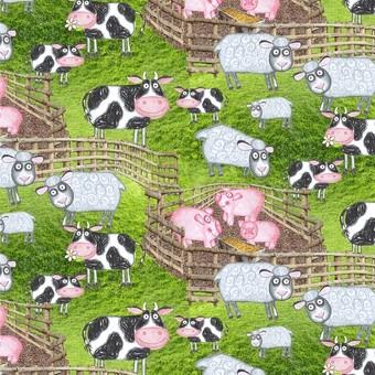 Barnyard Boogie Scenic Bauernhof Tiere