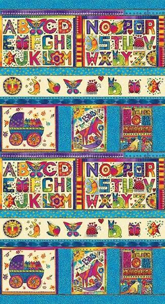 Laurel Land Alphabet Panel