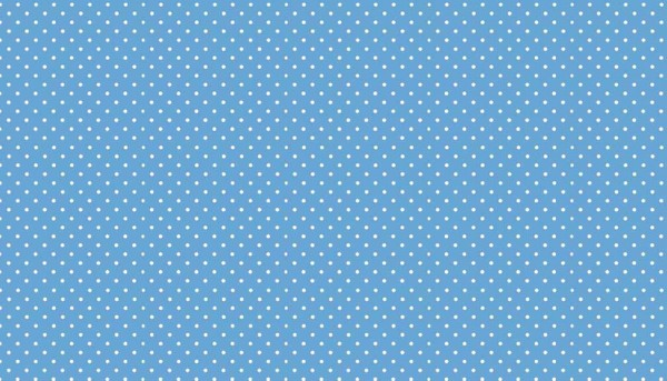 Punkte Stoff Spot On B64 Cobalt Blau