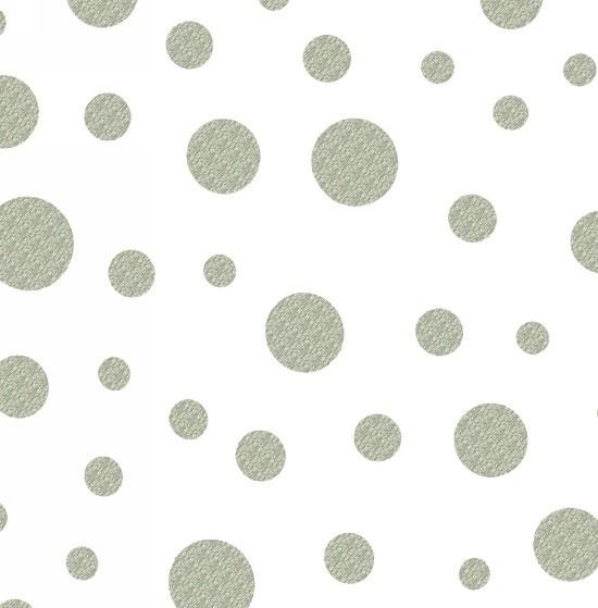 Razzmatazz Dots Weiß Silber