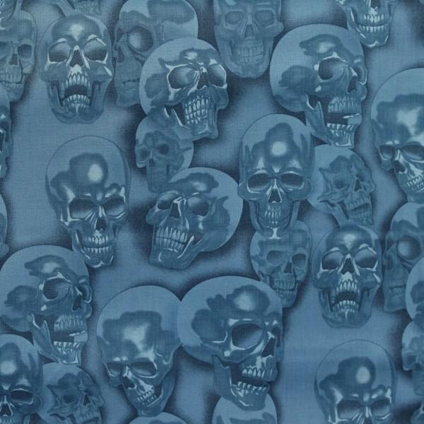 Skulls Blue Totenköpfe