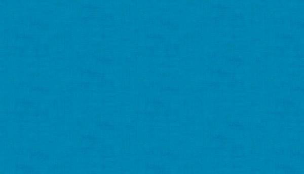 Linen Texture Peacock Blau