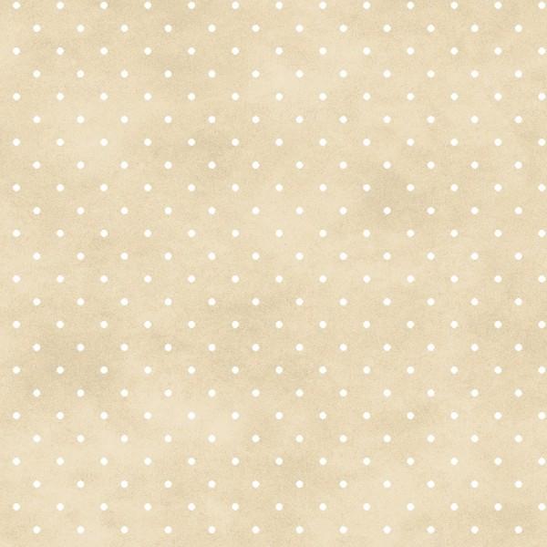 Punkte Stoff Beige Classic Dot Soft Tan