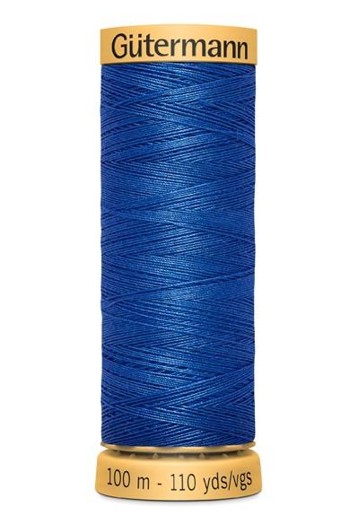7000 Blau Nähgarn 100m Baumwolle