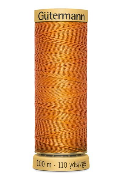 1576 Orange Nähgarn 100m Baumwolle