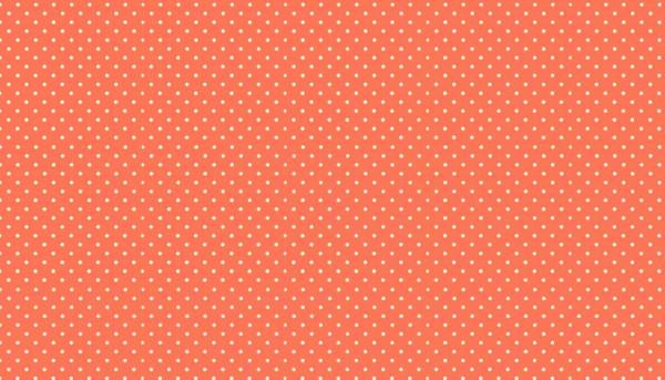 Punkte Stoff Spot On R63 Papaya Orange