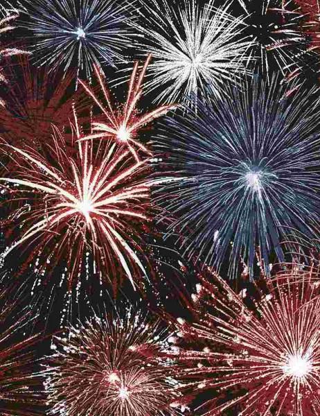 Feuerwerk Stoff Fireworks