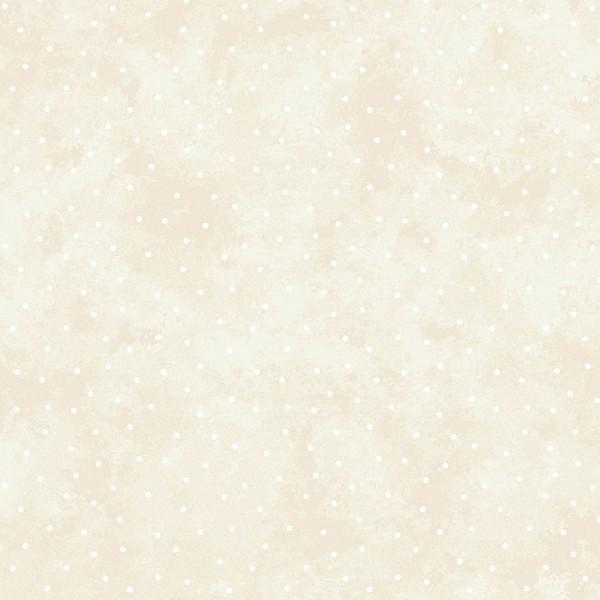 Punkte Stoff Beige Natural Scattered Dots