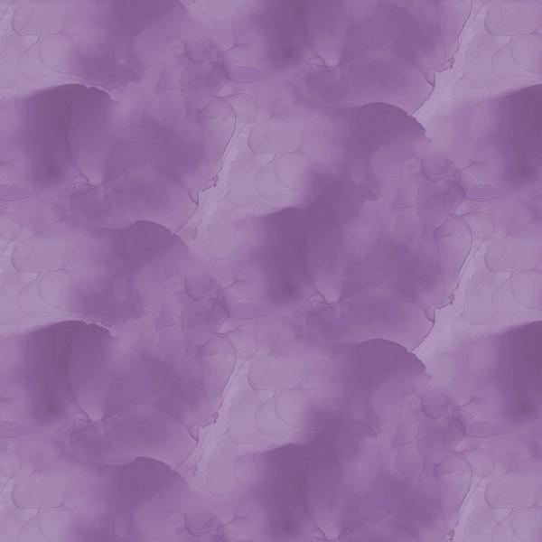 Batik Stoff Violett Watercolor Texture Essentials