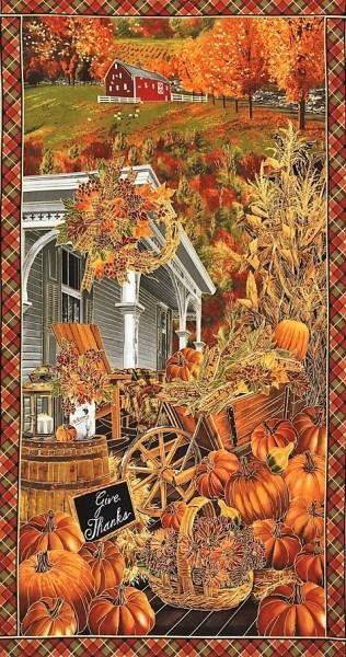 Fall Harvest Farmhouse Panel Herbst