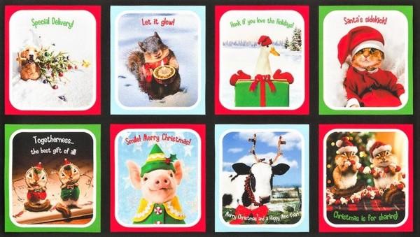 Santas Sidekicks Christmas Panel