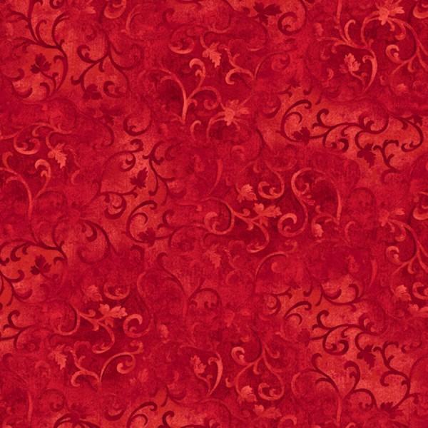 Ranken Stoff Rot Red Scroll Essentials