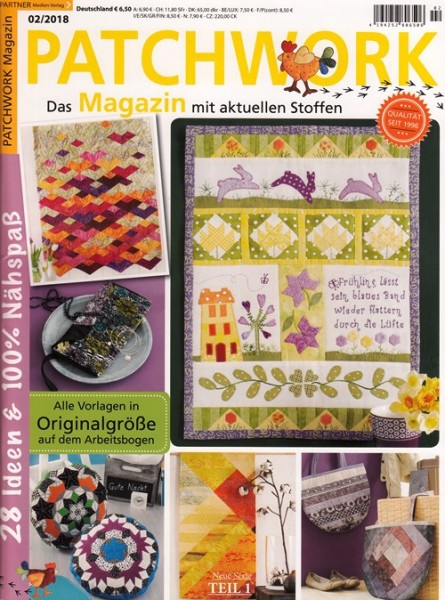 02/2018 Patchwork Magazin