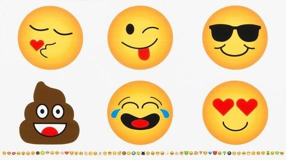OMG Emoji Kissen Panel