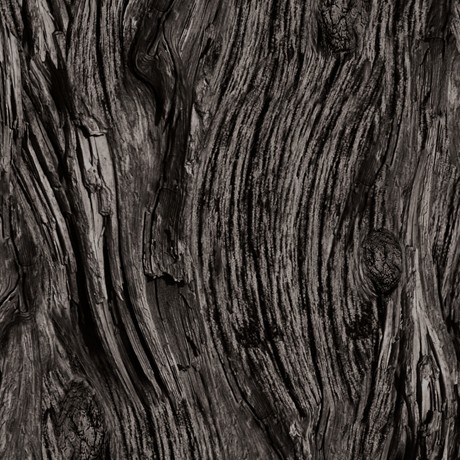 Holzmaserung Stoff Anthrazit Open Air Driftwood